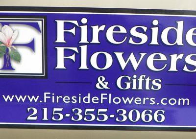 Fireside Flowers